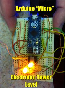 """Arduino Micro"" Camera Tower Level"