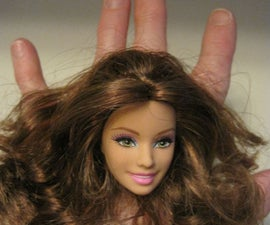 How to make a Barbie Head Ring