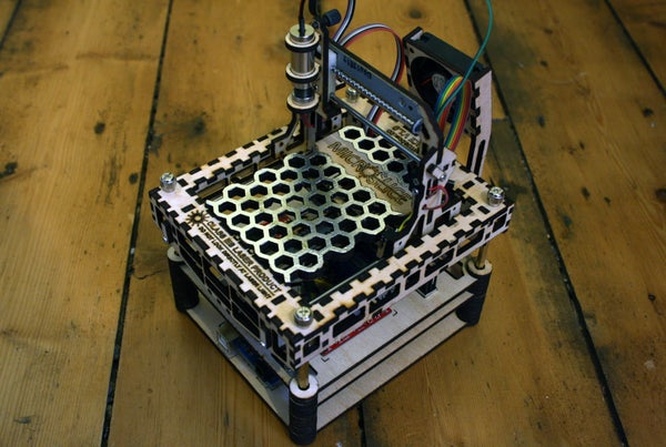 The MicroSlice V1 | a Tiny Arduino Laser Cutter