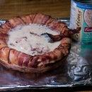 Make a Bacon Soup Bowl