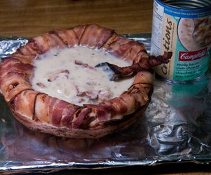 Make a Bacon Soup Bowl