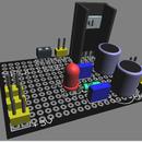 Perfboard/Veroboard Design Using Proteus ARES PCB Designer