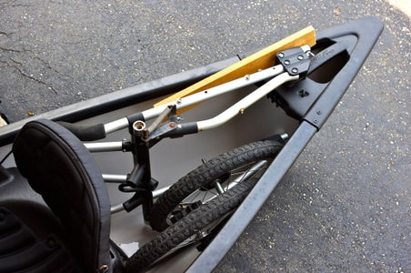 Canoe Caddy Assembled