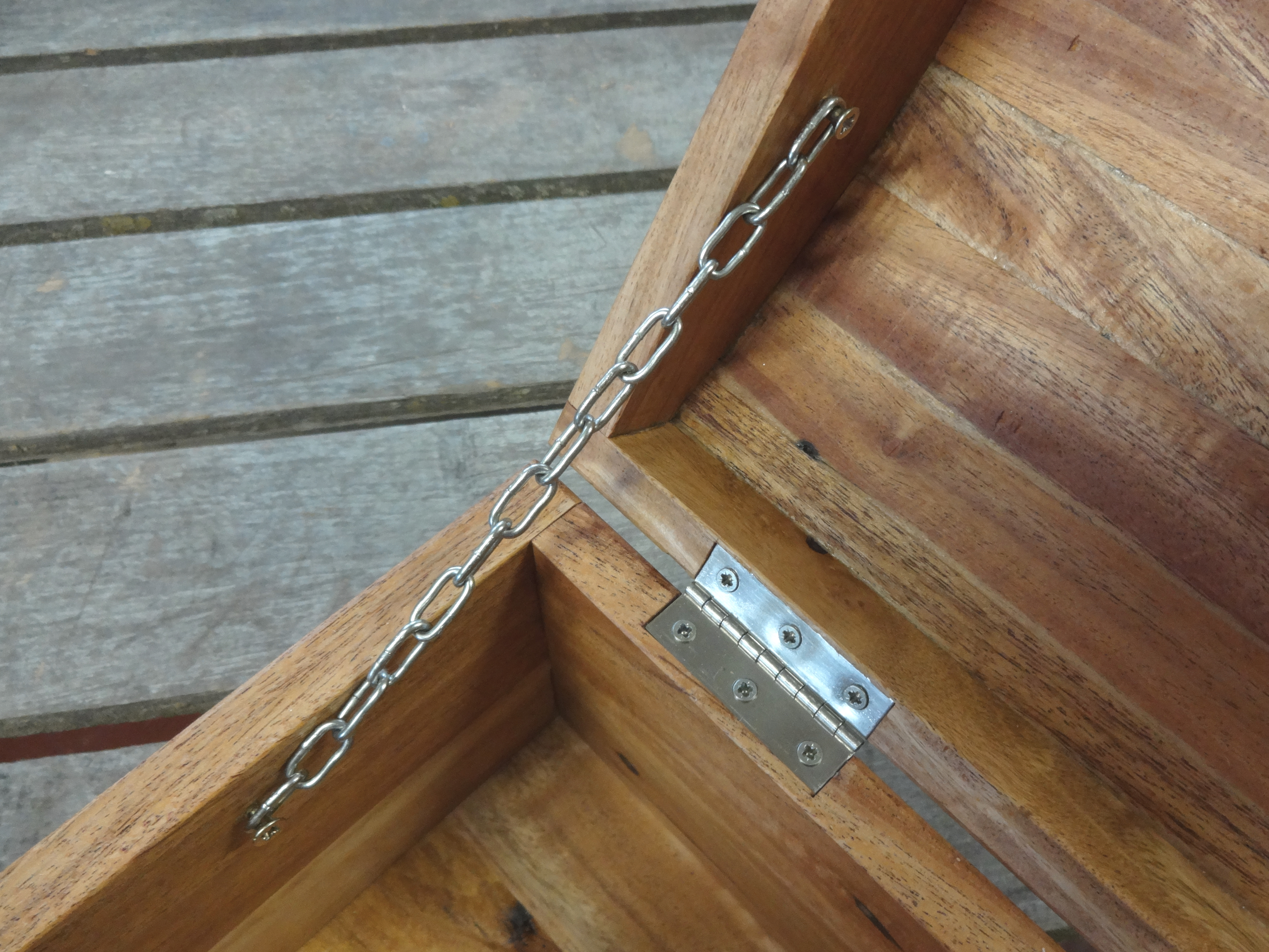 Picture of Installing Hinges, Clasp and Chain