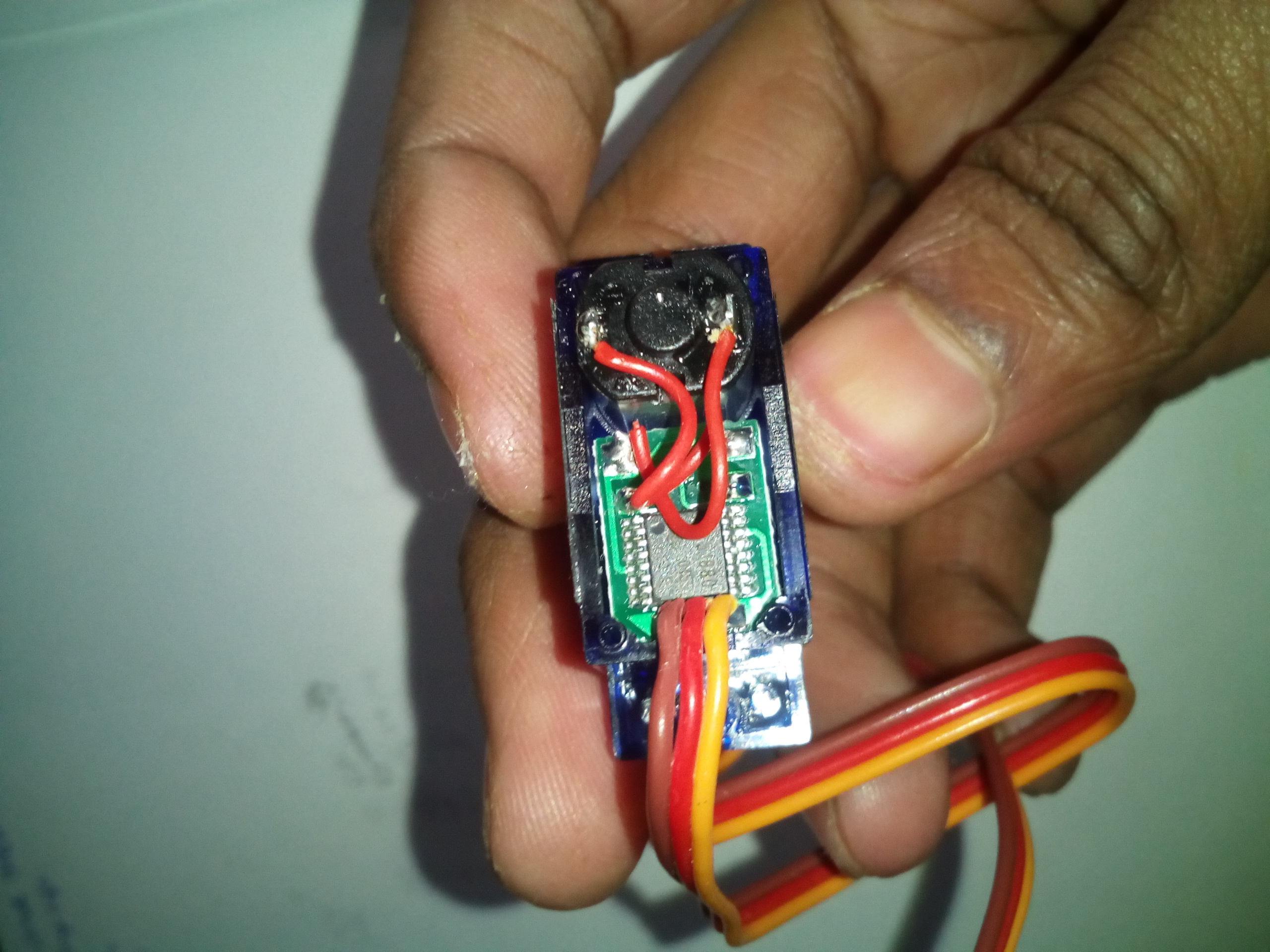 Picture of Making the Servo Motor Continuous Rotation