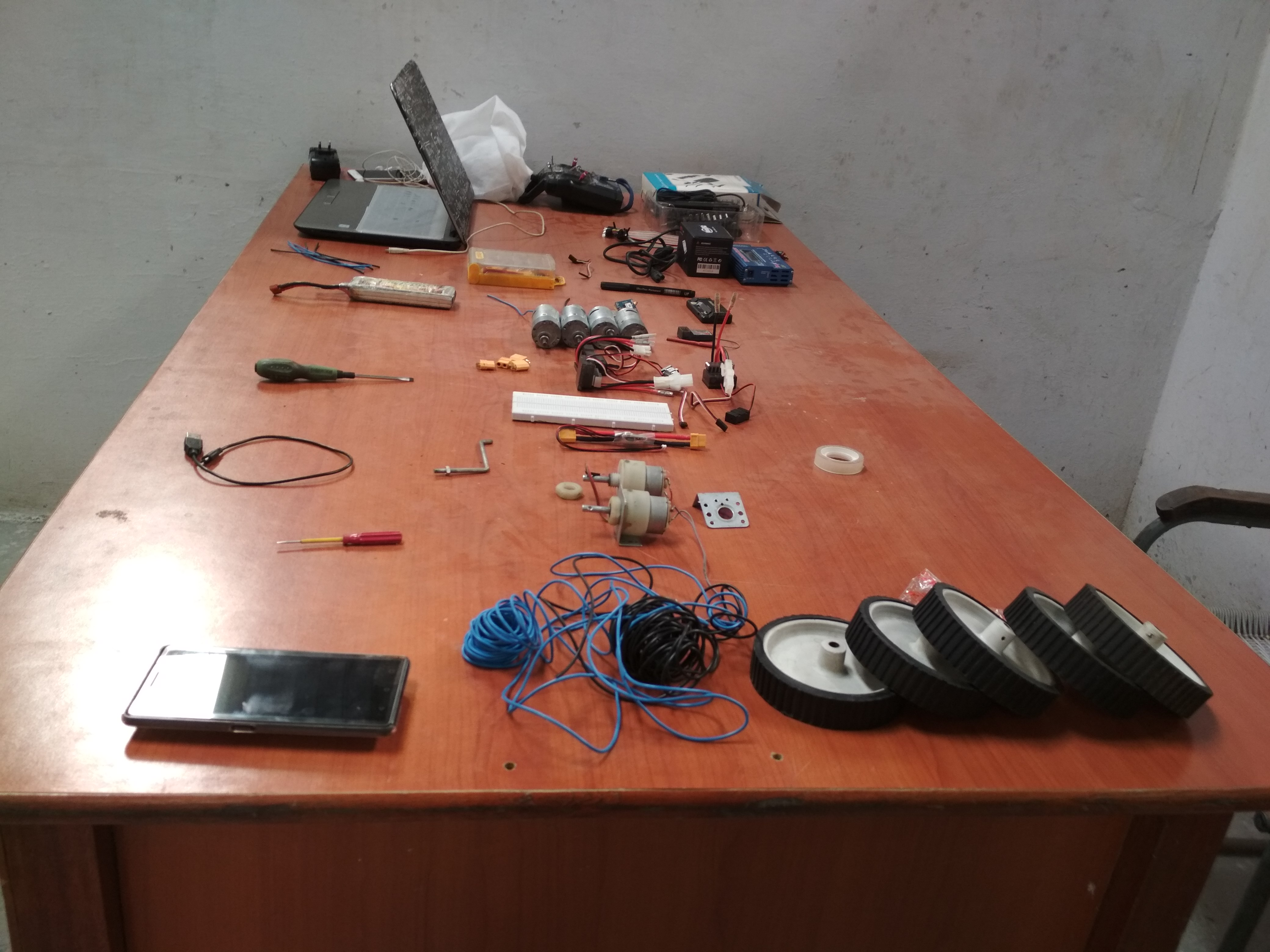 Picture of Selection of Components