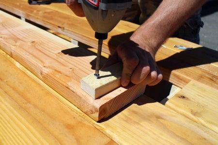 Feet for Center Plank