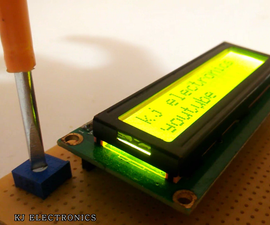 LCD Display With Arduino( How to Use the LCD)