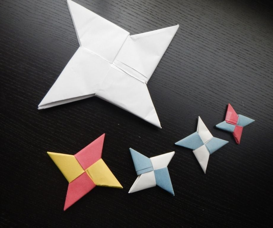Origami Transforming MAGIC STAR - 4 in 1 Design changing Paper ... | 768x921