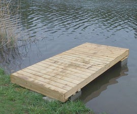 Movable Dock, Lego Style Brick Legs,  Under $300 Part I