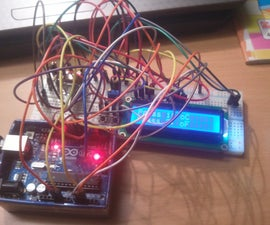 Temperature Measurement  Display on 16x2 LCD with Adjusting  the Temperature Upper and Lower Limit for Warning Using Arduino
