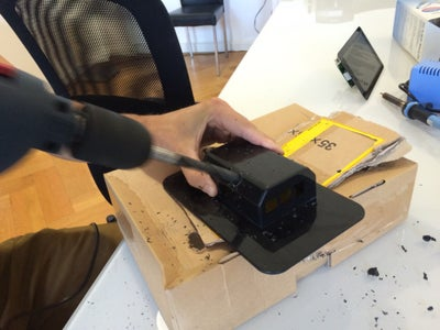 Drill Holes Into the Case for Your Sound Card's Output