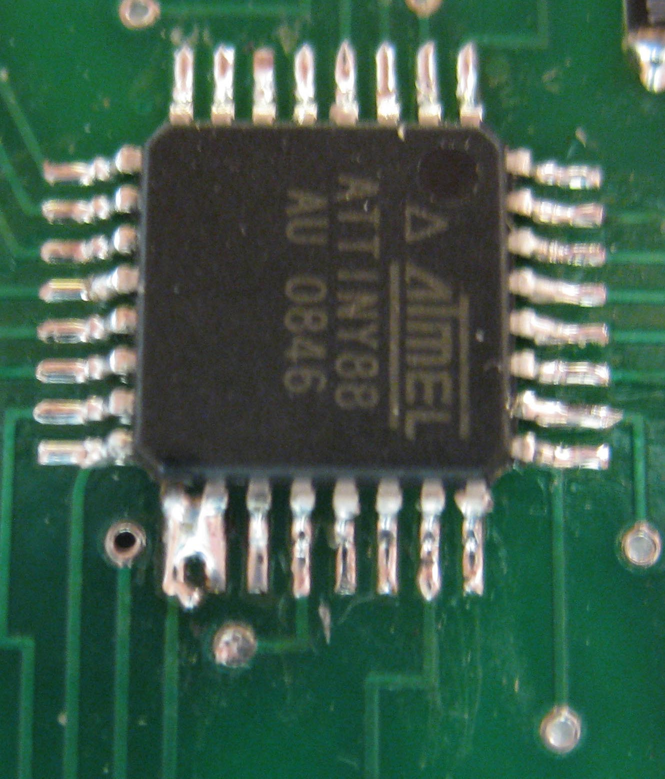Picture of Ouch, I've Got Solder Balls