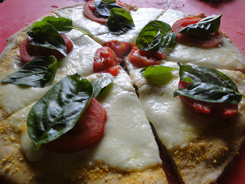 Picture of Grilled Capresse Pizza