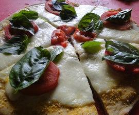 Grilled Capresse Pizza