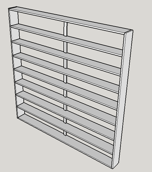 Picture of DIY Wooden DVD Shelving