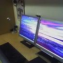 Change inverter in LCD desktop screen
