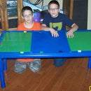 How to make a Lego table out of PVC pipe