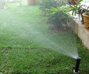 Automatic Garden Watering System BY Arduino, LCD,  Buttons, EEPROM, Solenoid Valve, Motor and Underground Sprinkler