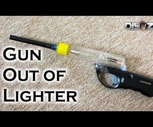 Lighter gun