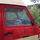 Mosquito Net With Magnets for Van Window