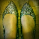 sparkle-ified shoes