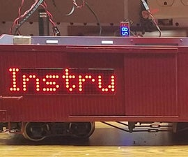 Making a Moving, Wirelessly Controlled LED Display