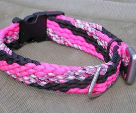 Twelve cord flat weave instructions
