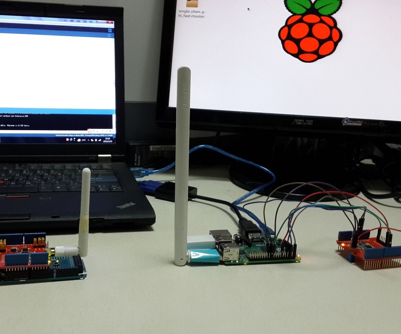 Use Lora Shield And Rpi To Build A Lorawan Gateway 10 Steps With Wiringpi Serial Read Example Pictures