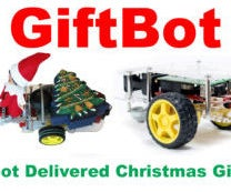 GiftBot: A Raspberry Pi Robot That Delivers Christmas Gifts