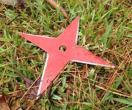 GIANT Sawblade Throwing Star