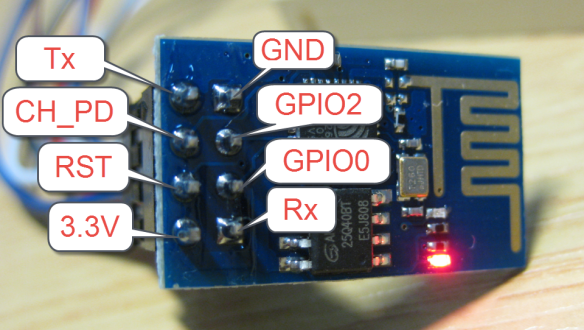 Picture of Preparing the ESP-01 Module for Programming