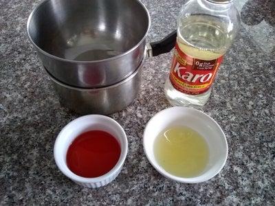 Syrup Bubbles Mixture