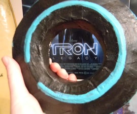 How to Make an Identity Disc Prop (Tron: Legacy)