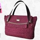 "Tutorial crochet bag ""Vayne"" - Clover stitch"