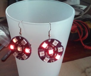 Electronic All Seasons, All Holidays, LED Earrings