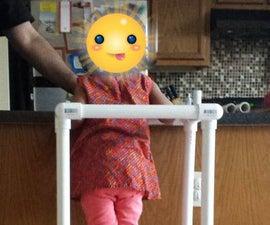 PVC - Kitchen Helper - Learning Tower - Hack