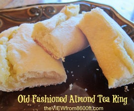 Old Fashioned Almond Tea Ring