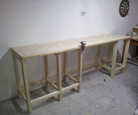 Garage Wood Workbench