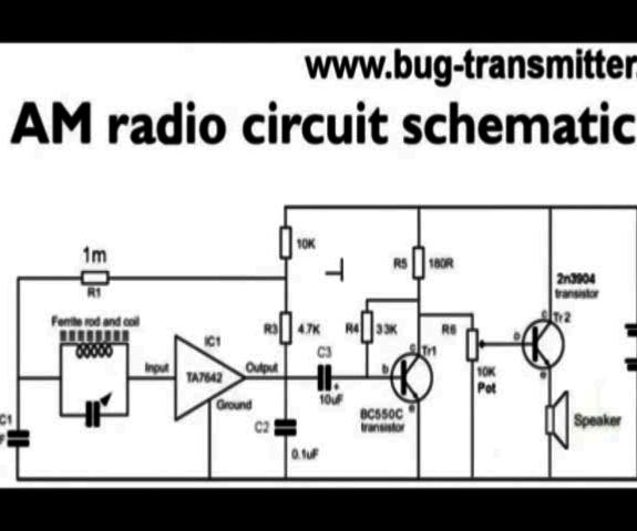Schematic Diagram Of Am Radio. Am Radio Antenna, Am Fm Radio ... on