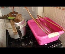 Distillation Process Lavender oil Steam Extraction Separation Pressure Cooker Still for £10 Part 2