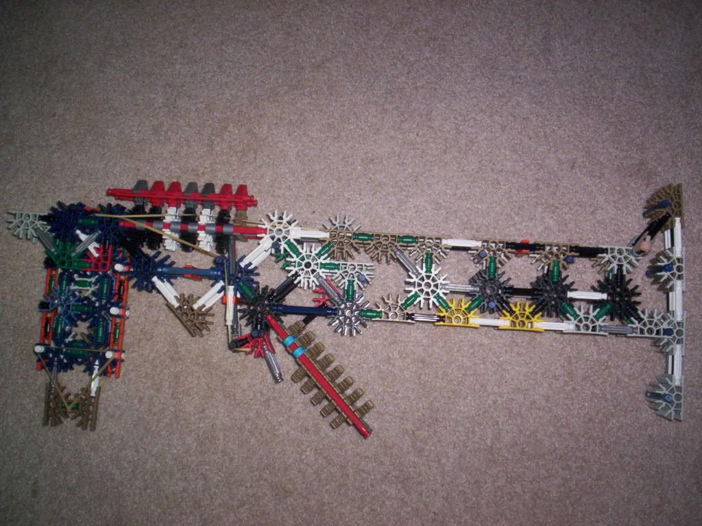 Picture of True Trigger, Auto Loading K'NEX Gun