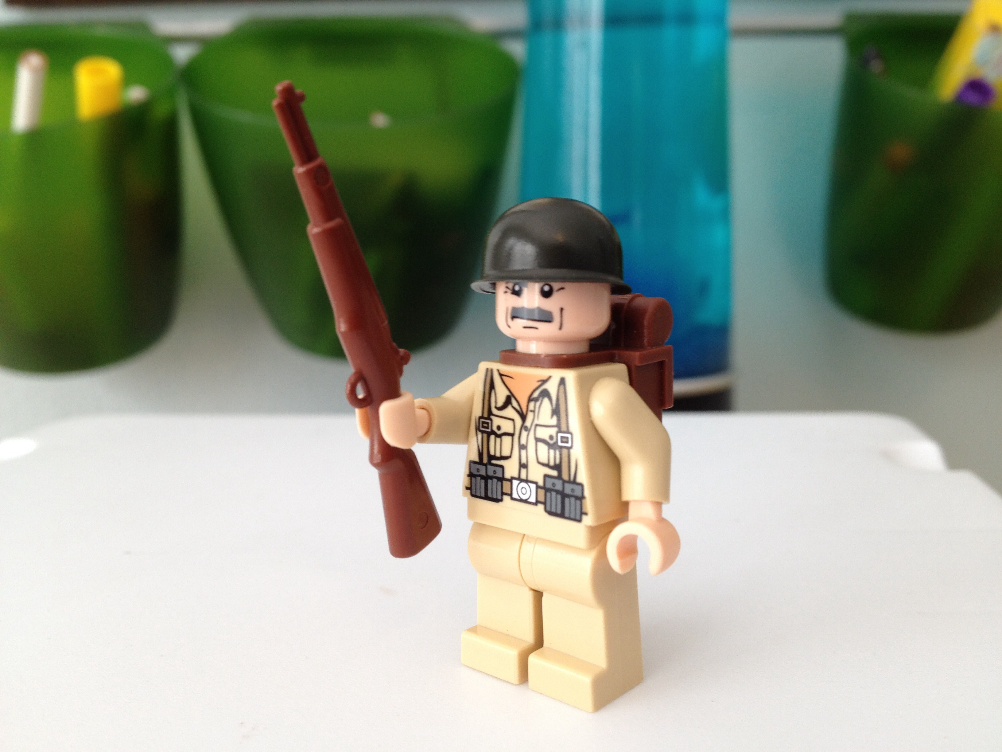 Picture of Lego American Soldier