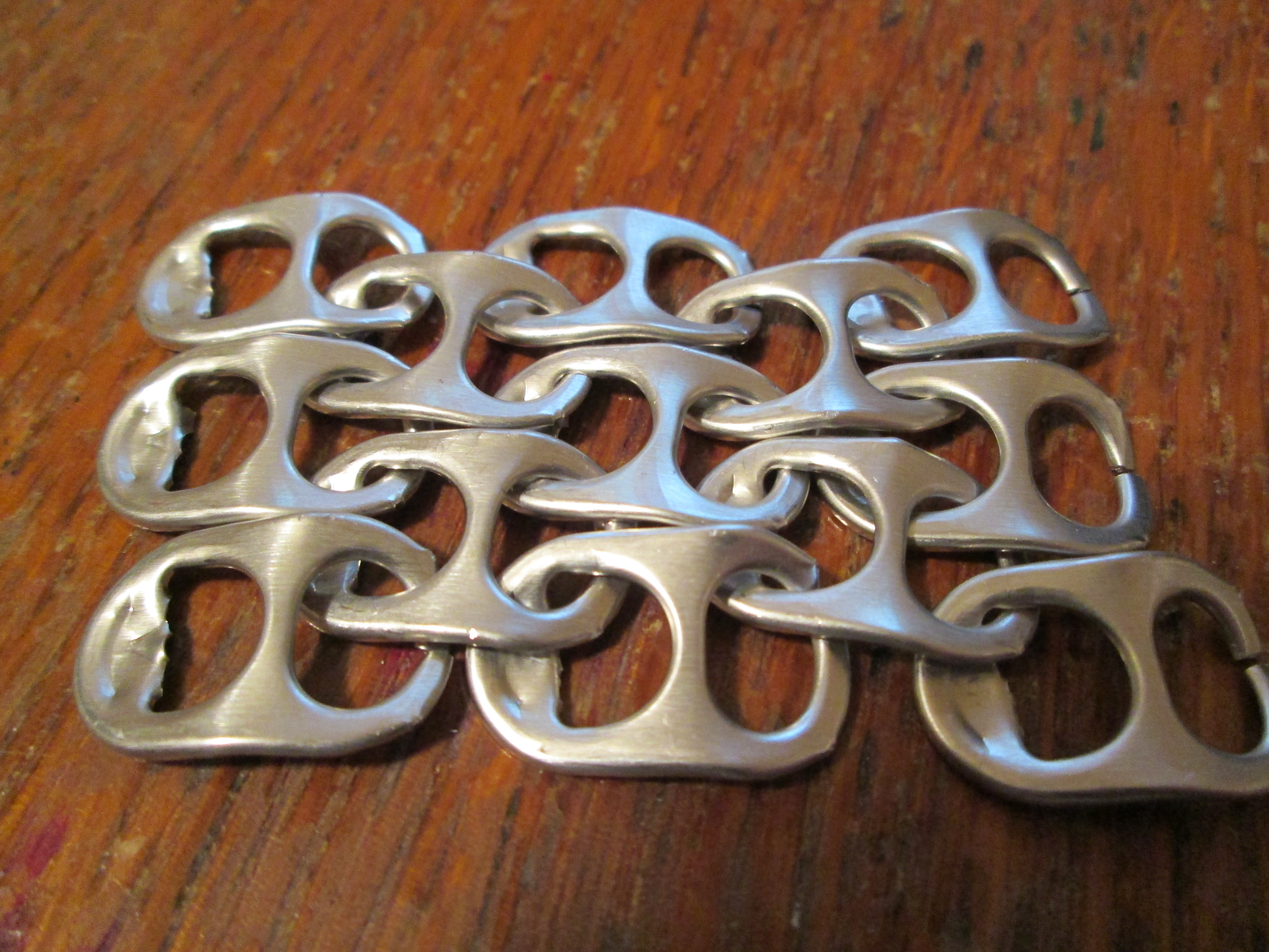 Picture of Simple Pop Tab Chainmail