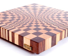 Making a 3D end grain cutting board #1