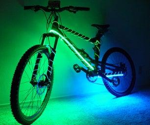 Electroluminescent Mountain Bike
