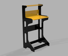 Single Sheet Stand-Up Work Station