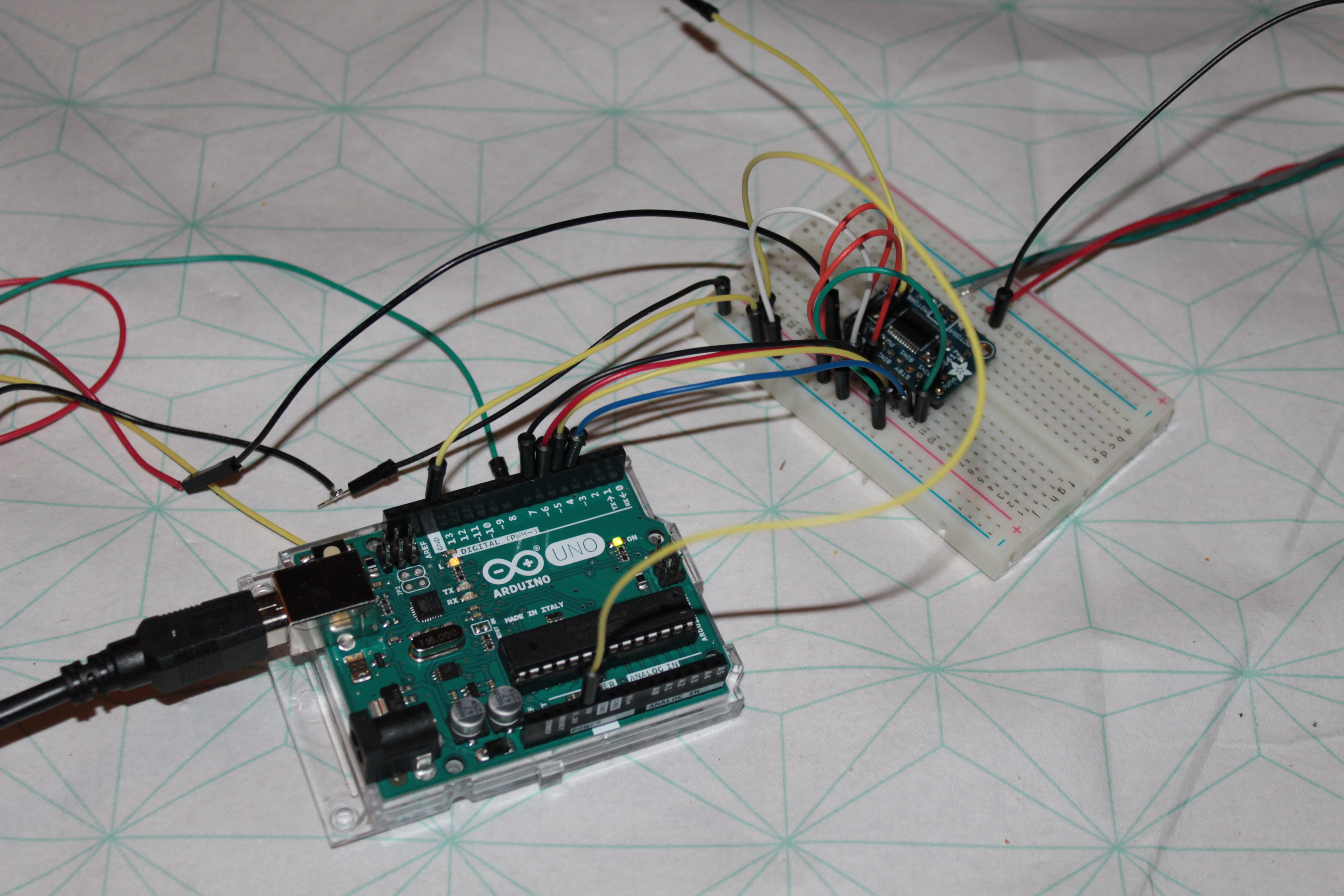 Picture of Arduino Set-up