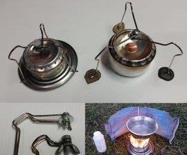 The ultimate pot stand for a penny can stove!!!