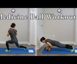 Full Body Medicine Ball Circuit Workout